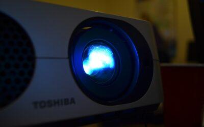 Projektor lærred til kontoret eller klasseværelset